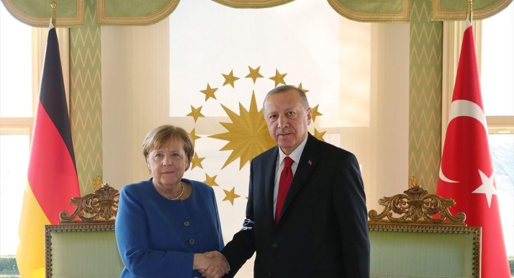 Erdoğan- Merkel görüşmesi başladı