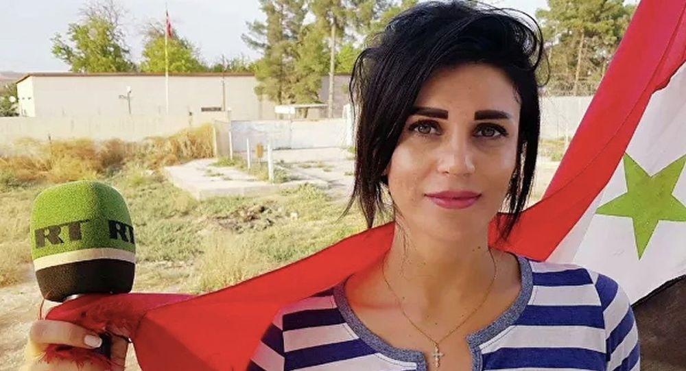 Russia Today (RT) Arabic muhabiri Vafa Shabruni