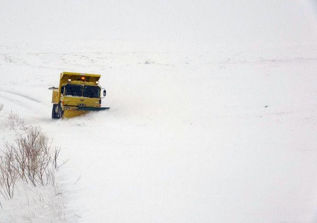 Doğu Anadolu kar yağışı
