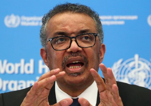 Dünya Sağlık Örgütü Genel Direktörü Tedros Adhanom Ghebreyesus