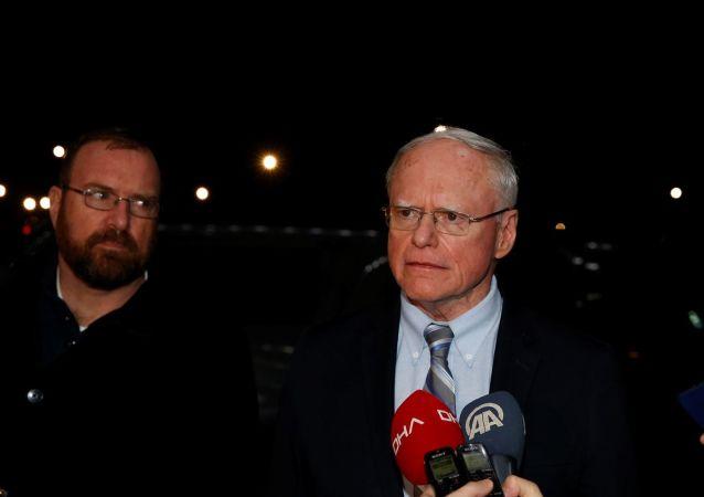 ABD'nin Suriye Özel Temsilcisi James Jeffrey, Ankara'ya geldi.