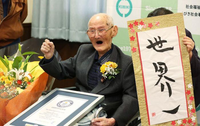 2 hafta önce 'Dünyanın en yaşlı erkeği' ilan edilen kişi hayatını kaybetti
