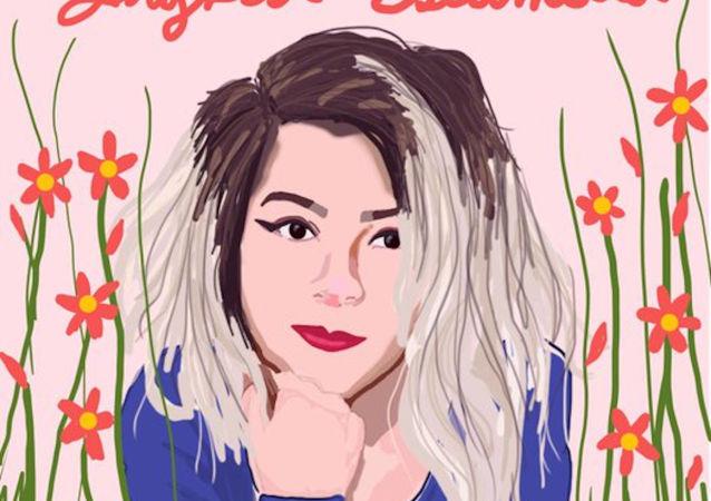 Meksika'da sanatçıSofia Tello Moscarella, vahşice öldürülen Ingrid Escamilla için yaptığı 'mutluluk' tablosunu sosyal medyada paylaştı.
