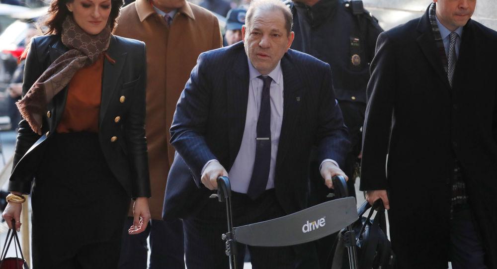 Seri tecavüzcü yapımcı Weinstein, hapiste ölmeye hazırlanmak için danışman desteği alıyor