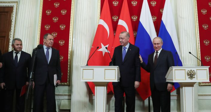 Moskova'daki zirve, Recep Tayyip Erdoğan-Vladimir Putin