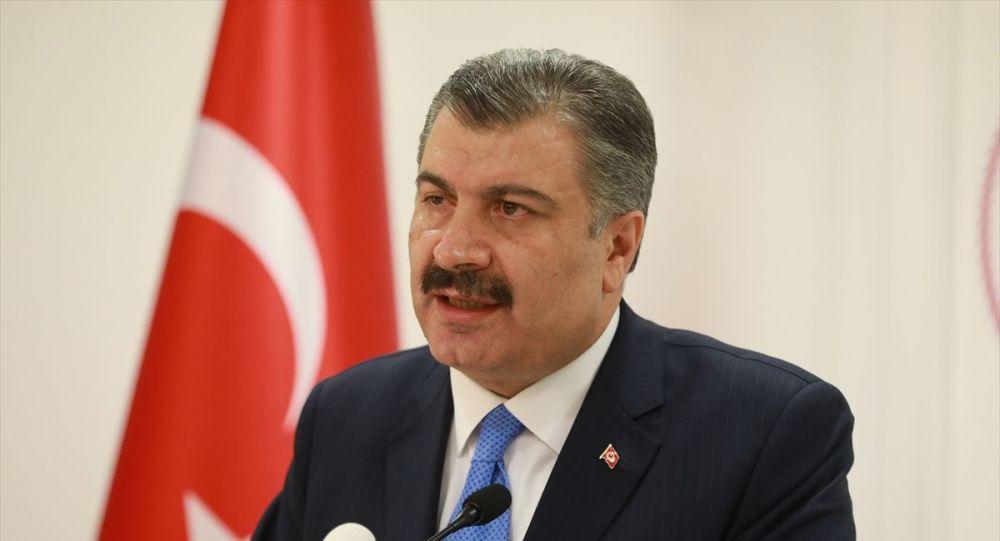 Sağlık Bakanı Fahrettin Koca, düzenlediği basın toplantısında Türkiye'deki ilk koronavirüs vakasını açıkladı.