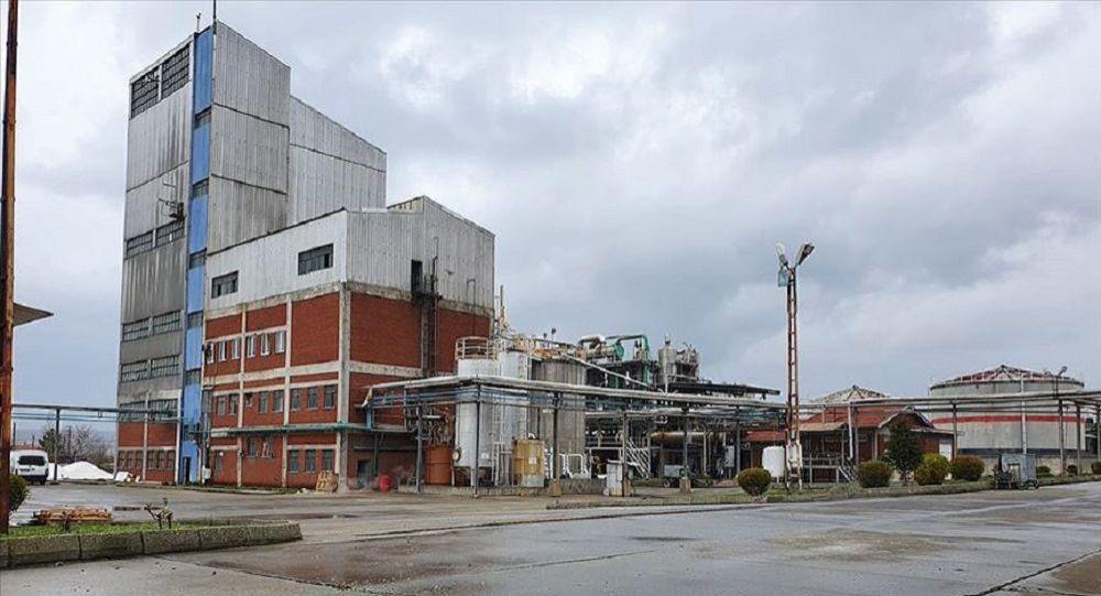14 yıl atıl kalan etil alkol fabrikasında 2 milyon 200 bin litrelik üretim