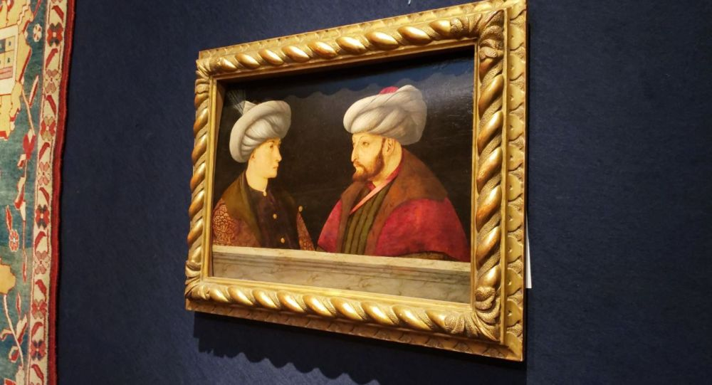 Fatih Sultan Mehmet'in özel koleksiyonda bulunan son portresi
