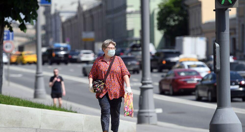 koronavirüs, maske, Moskova