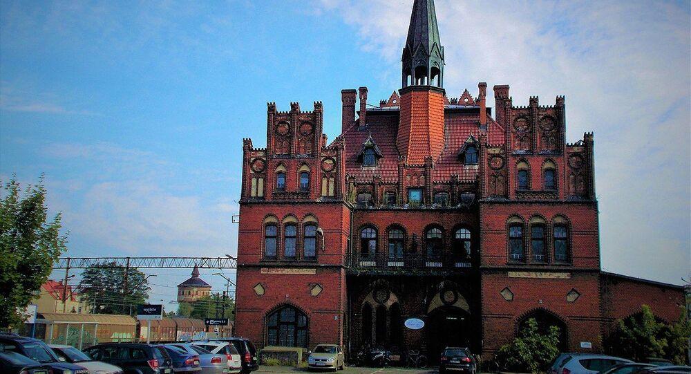 Polonya'da şişeye gizlenmiş İkinci Dünya Savaşı'na ait mektubun bulunduğu istasyon