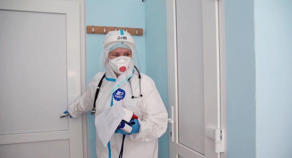 koronavirüs-Moskova, Rusya