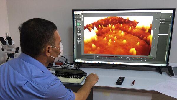 Koronavirüs ilk defa 3 boyutlu görüntülendi - Sputnik Türkiye