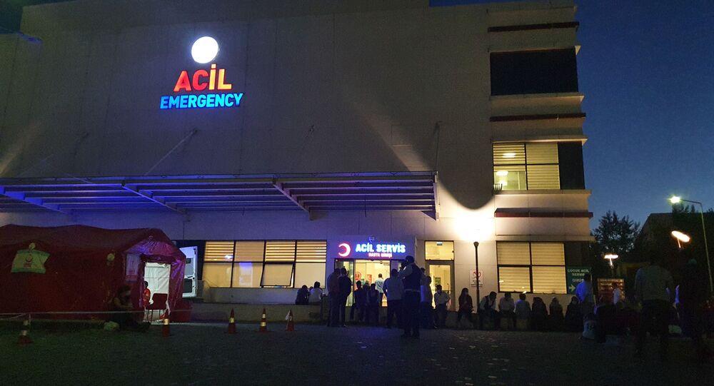 Kastamonu'nun Küre ilçesinde bir düğün merasiminde nereden geldiği belli olmayan kurşunlar nedeniyle 1'i ağır olmak üzere 3 kişi yaralandı.