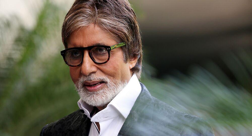 Hint sinemasının dünyaca ünlü ismi Amitabh Bachchan