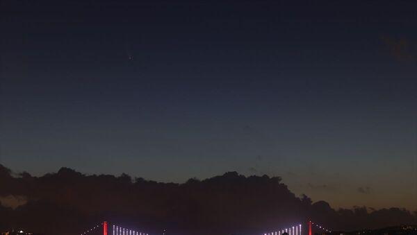 Neowise kuyruklu yıldız istanbul semalarında gözüktü - Sputnik Türkiye