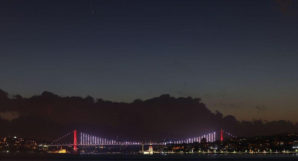 Neowise kuyruklu yıldız istanbul semalarında gözüktü