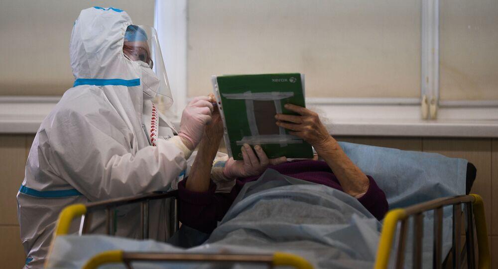 Rusya- Koronavirüs- Hastane