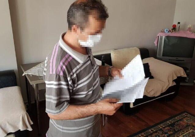 Cinsel istismara maruz bıraktığı kızının alnına 'enayi' yazıp fotoğrafını gönderdi