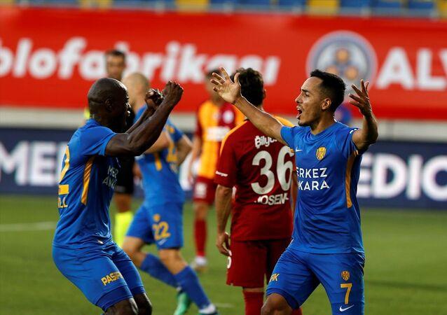 Süper Lig Cemil Usta Sezonu 32. haftasında Ankaragücü ile Galatasaray takımları Ankara Eryaman Stadı'nda karşılaştı.