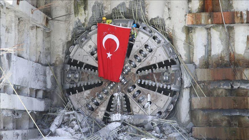 metro inşaatı