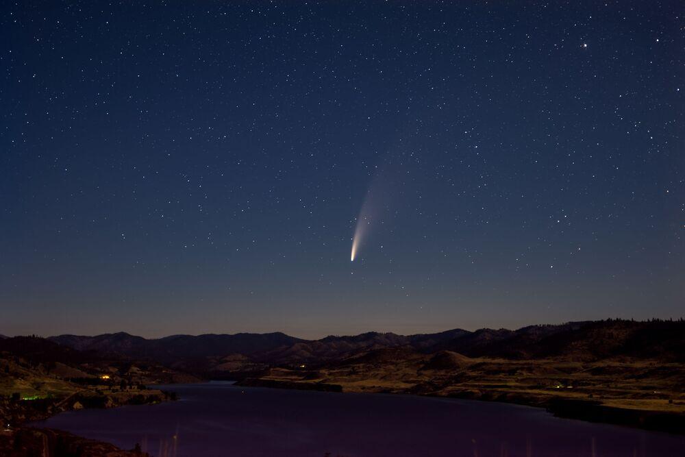 Kuyruklu yıldız yaklaşık bir hafta daha çıplak gözle görülebilecek.