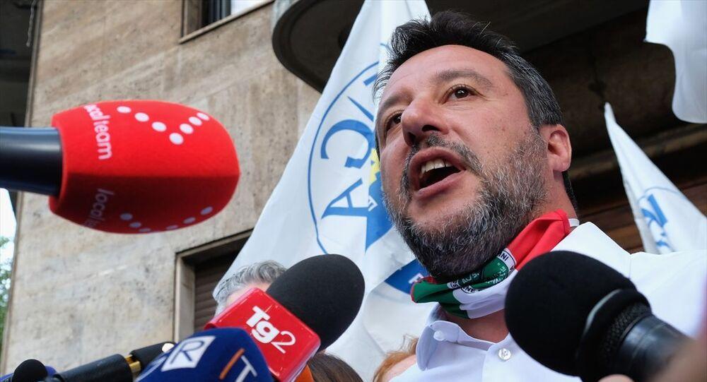 İtalyan Lig partisi lideri Salvini