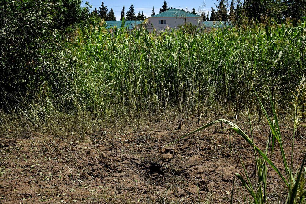 Azerbaycan'ın Ermenistan sınırındaki Dondar Guşçu köyüne düzenlenen saldırının sonuçları.