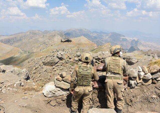 Şırnak'ın Cudi Dağı bölgesinde güvenlik güçleri tarafından PKK'ya yönelik Yıldırım-1 Cudi operasyonu başlatıldı.