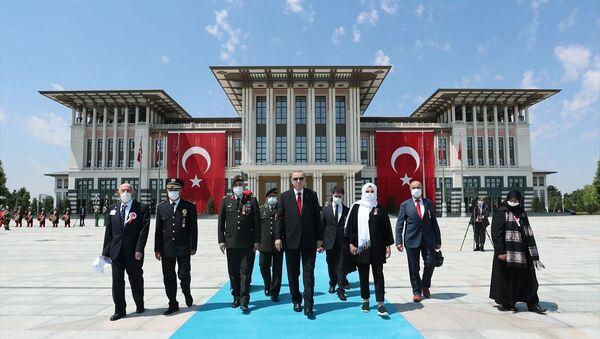 Erdoğan, Cumhurbaşkanlığı Külliyesi - Sputnik Türkiye