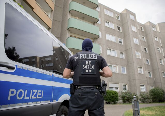 Almanya-polis
