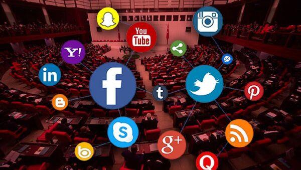 TBMM-sosyal medya - Sputnik Türkiye