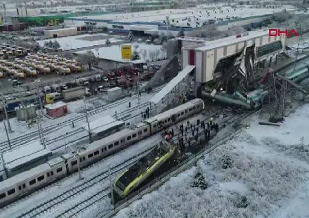 Yüksek Hızlı Tren kazası