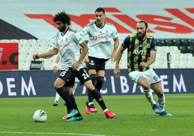 Süper Lig'in 33. haftasında oynanan Beşiktaş-Fenerbahçe derbisi