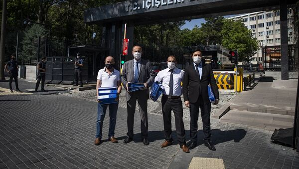 Yenilik Partisi kuruluş dilekçesi İçişleri Bakanlığı'na verildi - Sputnik Türkiye