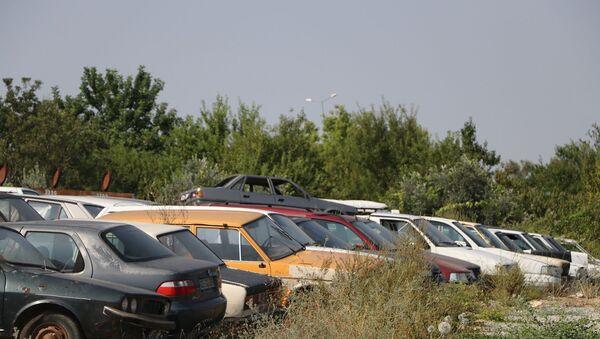 Araç – araba – yediemin deposu  - Sputnik Türkiye