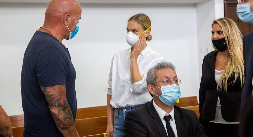 Bar ve Tzipi Refaeli'nin vergi kaçırmaktan yargılandıkları mahkeme