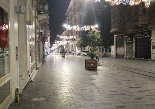 İstiklal Caddesi'nde polisi harekete geçiren şüpheli paket
