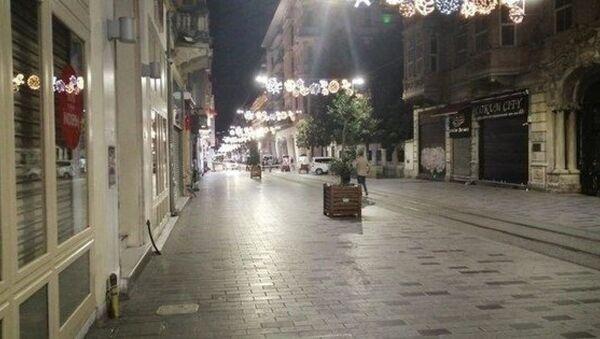 İstiklal Caddesi'nde polisi harekete geçiren şüpheli paket - Sputnik Türkiye