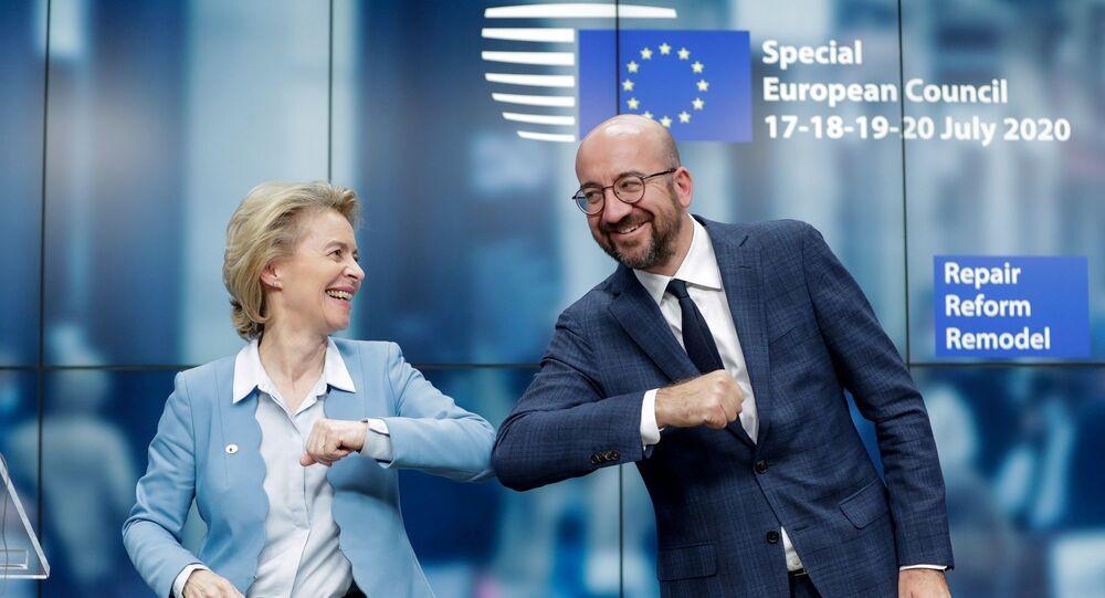 Charles Michel ve Ursula Von Der Leyen