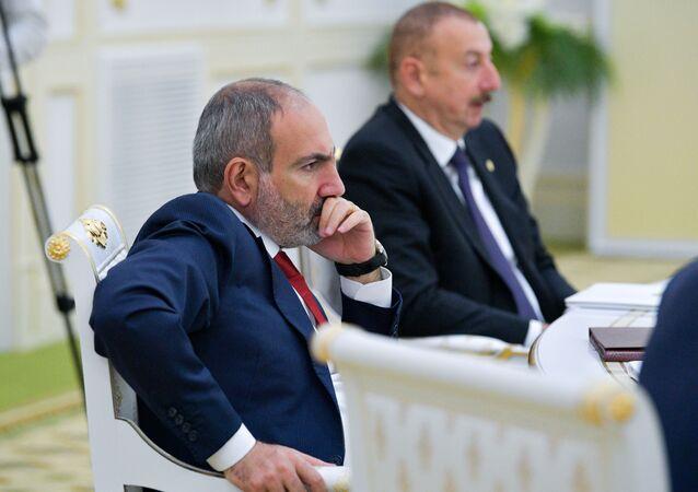 Nikol Paşinyan-İlham Aliyev