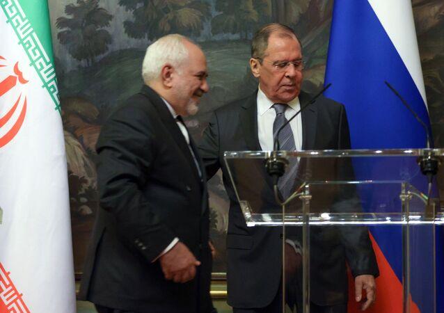 Rusya Dışişleri Bakanı Sergey Lavrov-Cevad Zarif