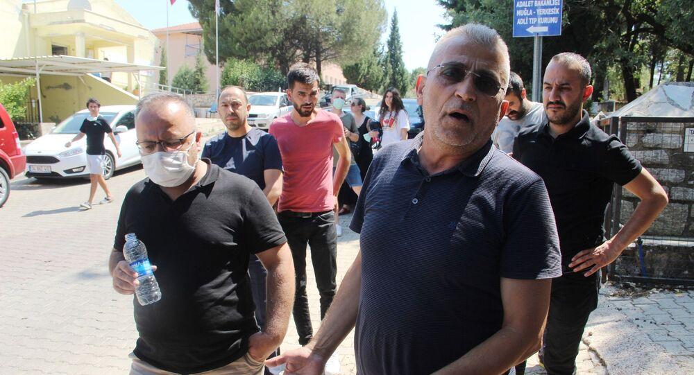 Pınar Gültekin'in babası Sıddık Gültekin