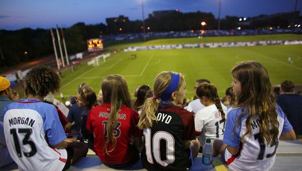 ABD-Ulusal Kadın Futbol Ligi-kadın futbol takımı - Sputnik Türkiye