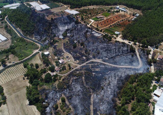 Antalya yangın