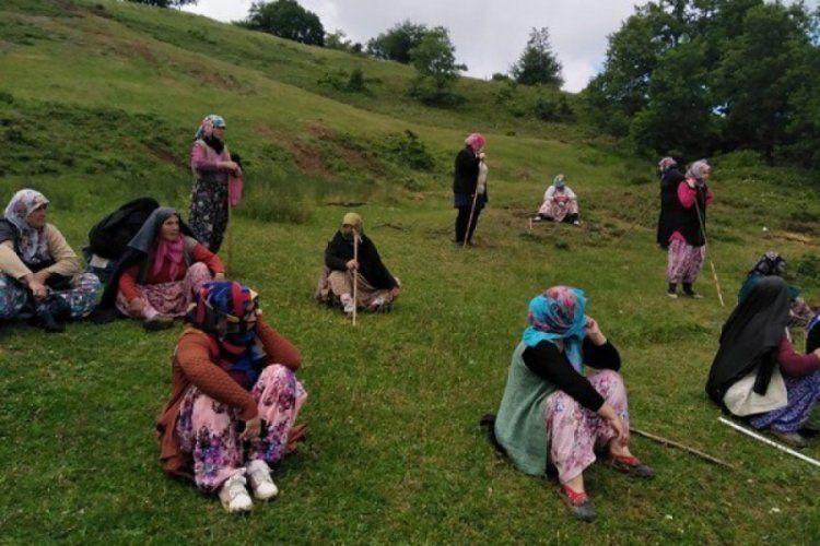 Bursa Kirazlıyayla köyünde flotasyon ve atık tesisine karşı direnen 12 kadın gözaltına alındı.