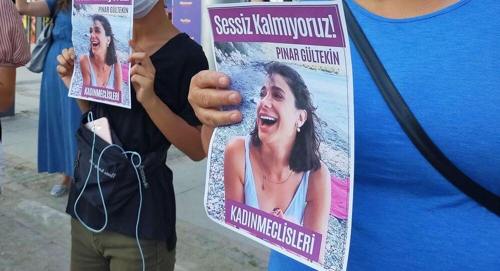 Pınar Gültekin, eylem, Edirne