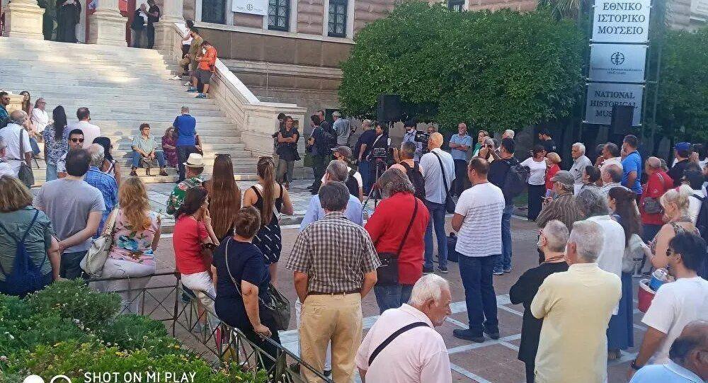 Selanik Ayasofya protestosu