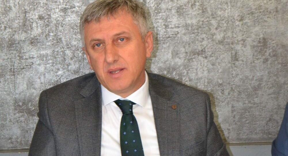 Trabzon'un Of İlçe Belediye Başkanı Salim Salih Sarıalioğlu