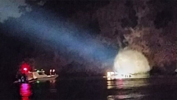 Heybeliada açıklarında batan teknedeki 27 kişi,Sahil Güvenlik ve Deniz Polisi arama-kurtarma ekiplerince kurtarıldı. - Sputnik Türkiye