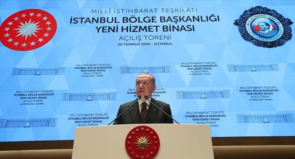 Erdoğan, MİT'in İstanbul'daki yeni hizmet binası açılışına katıldı ...